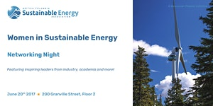 Women in Sustainable Energy Networking Event