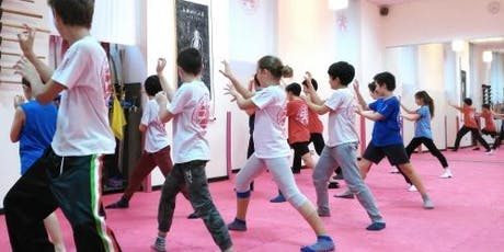 Kung Fu ragazzi dai16anni _ 1 lezione free biglietti