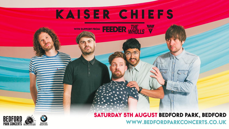 Bedford Park Concerts - Kaiser Chiefs