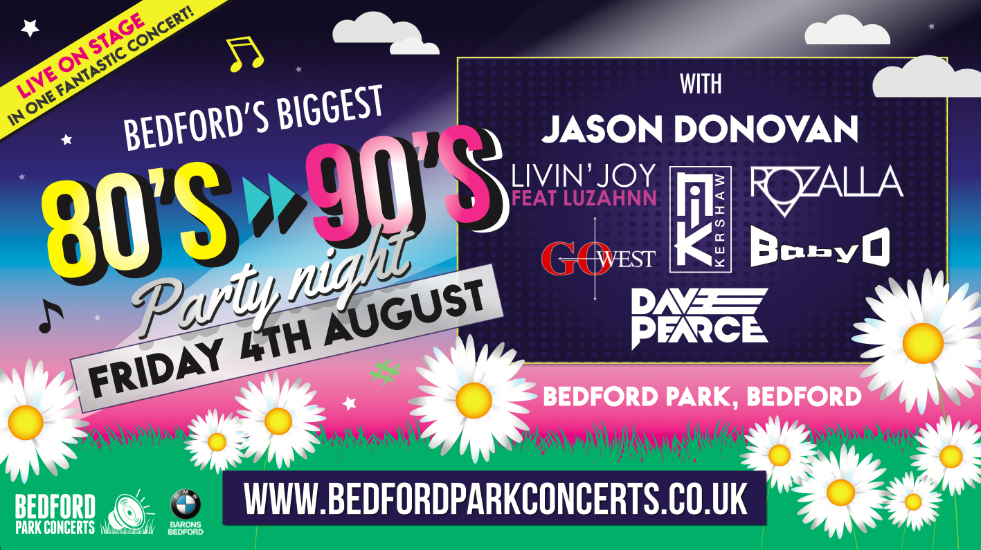 Bedford Park Concerts - 80's into the 90's