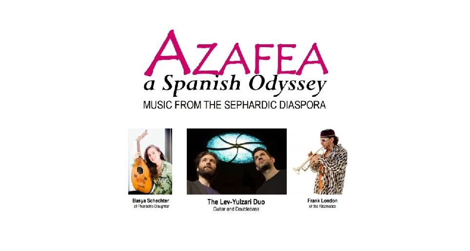 AZAFEA-A Spanish Odyssey The Lev-Yulzari Duo,