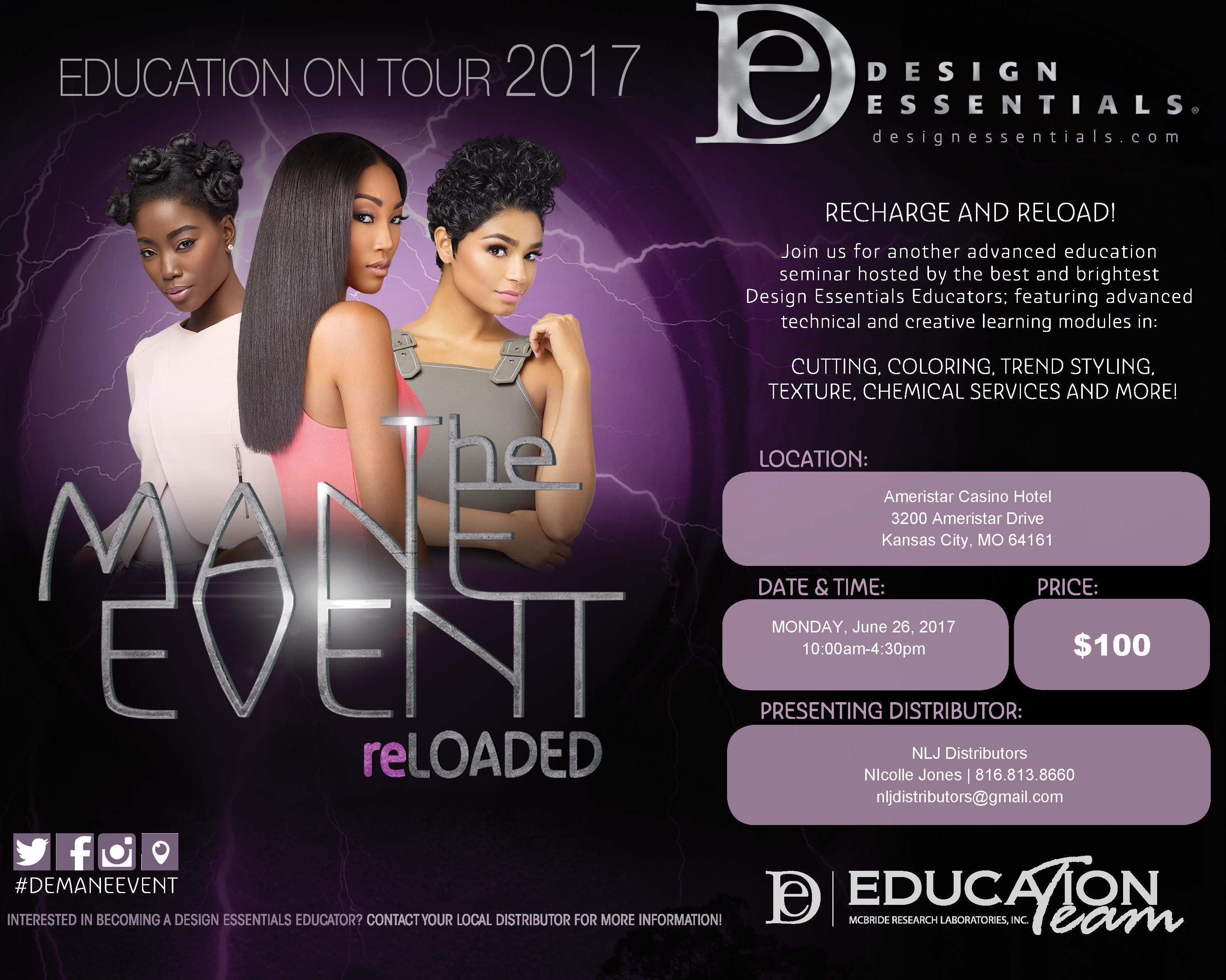 THE MAIN EVENT- DESIGN ESSENTIALS EDUCATIONAL