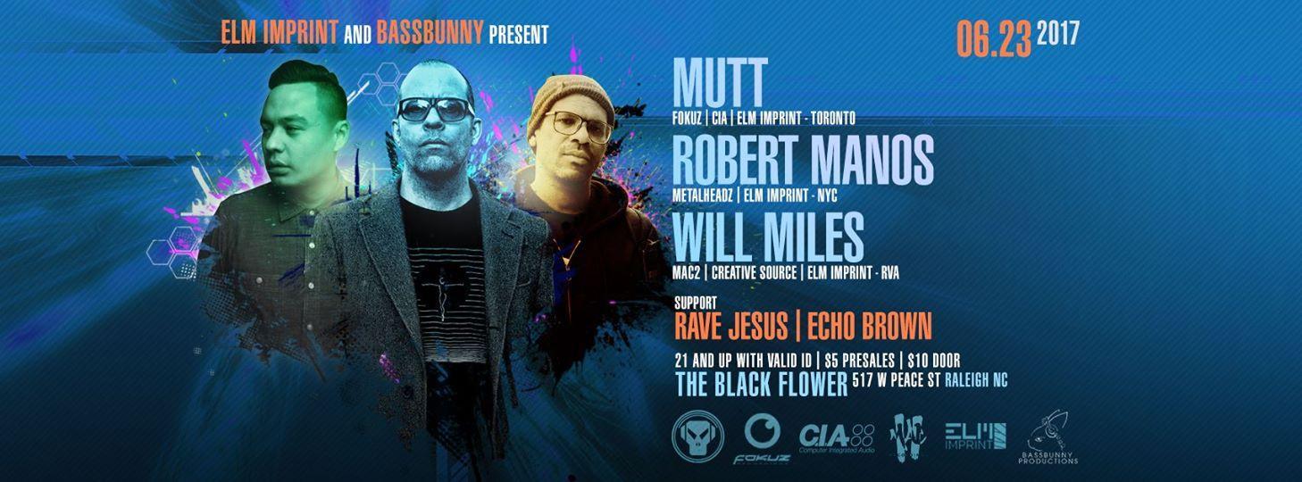 Elm Imprint And Bass Bunny Present: Mutt, Rob