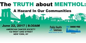 The Truth About Menthol: A Hazard in Our Communities