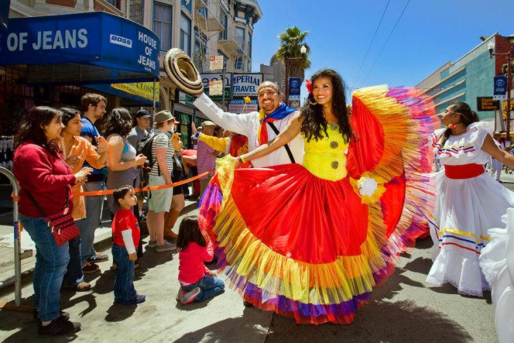 SF Carnaval Parade with BA Outdoors & Socials