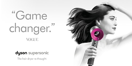 Supersonic Hair Styling | Dyson Demo, The Dubai Mall |