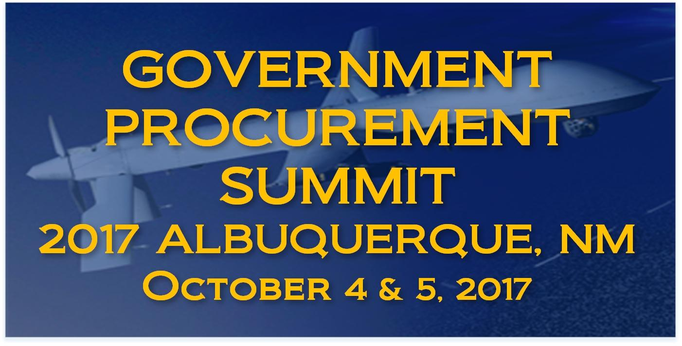 2017 ALBUQUERQUE, NM GOVERNMENT PROCUREMENT SUMMIT
