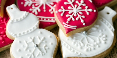 Christmas Iced Biscuits with Jessica Pedemont