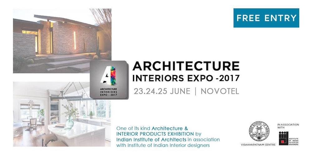 Architecture Interior Expo 2017 Tickets Fri 23 Jun At 1000 AM