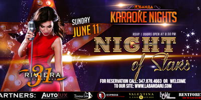 """Night of stars"" Karaoke Party By #labandaru"