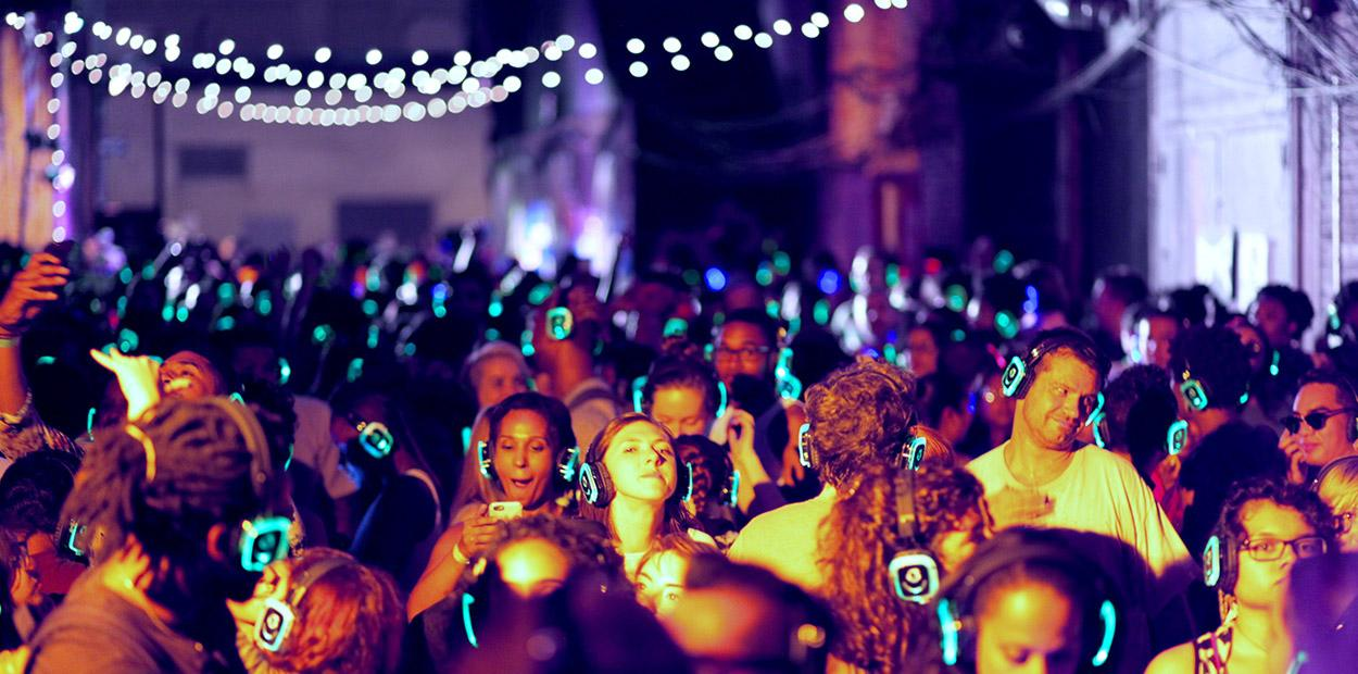 Silent Disco Dance Party at Lost Dog Lounge