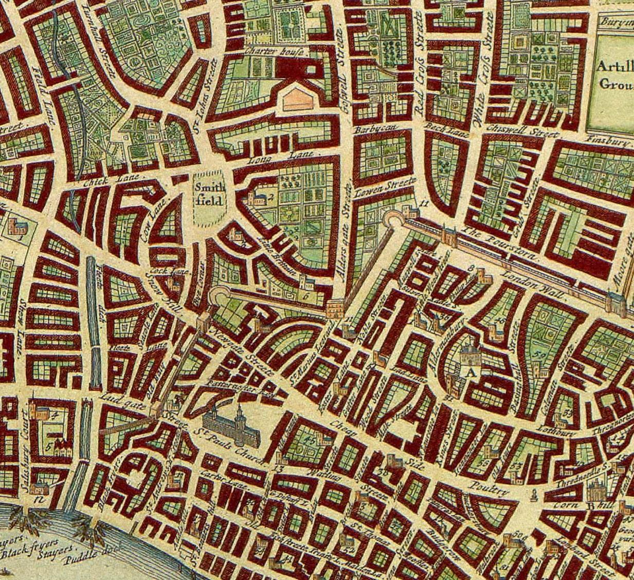 London 1708: a Walk into Library History