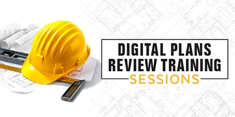 Digital Plans Review Training Session tickets