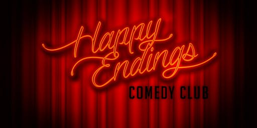 Friday Nights 8.30pm at The Legendary Happy Endings Comedy Club