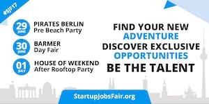 Startup Jobs Fair Tickets, Fri, Jun 30, 2017 at 2:30 PM | Eventbrite