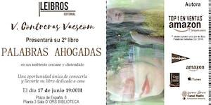 Presentación de PALABRAS AHOGADAS - V. Contreras...