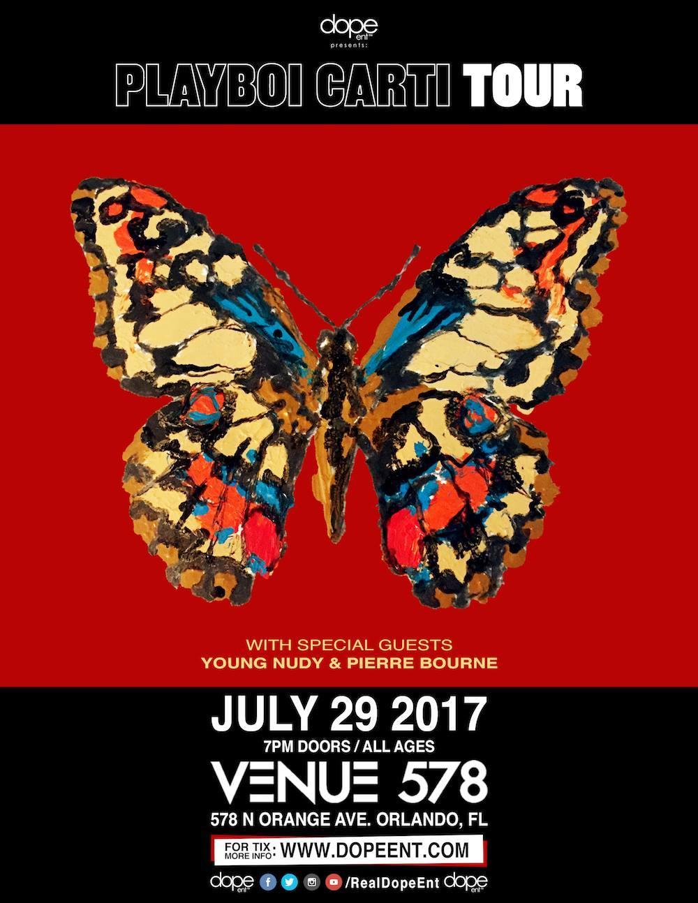 Playboi Carti Tour Live at Venue 578 | 07.29.17