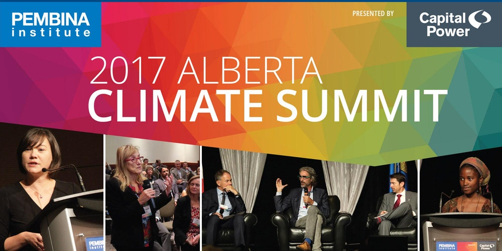 Image result for pembina climate summit 2017