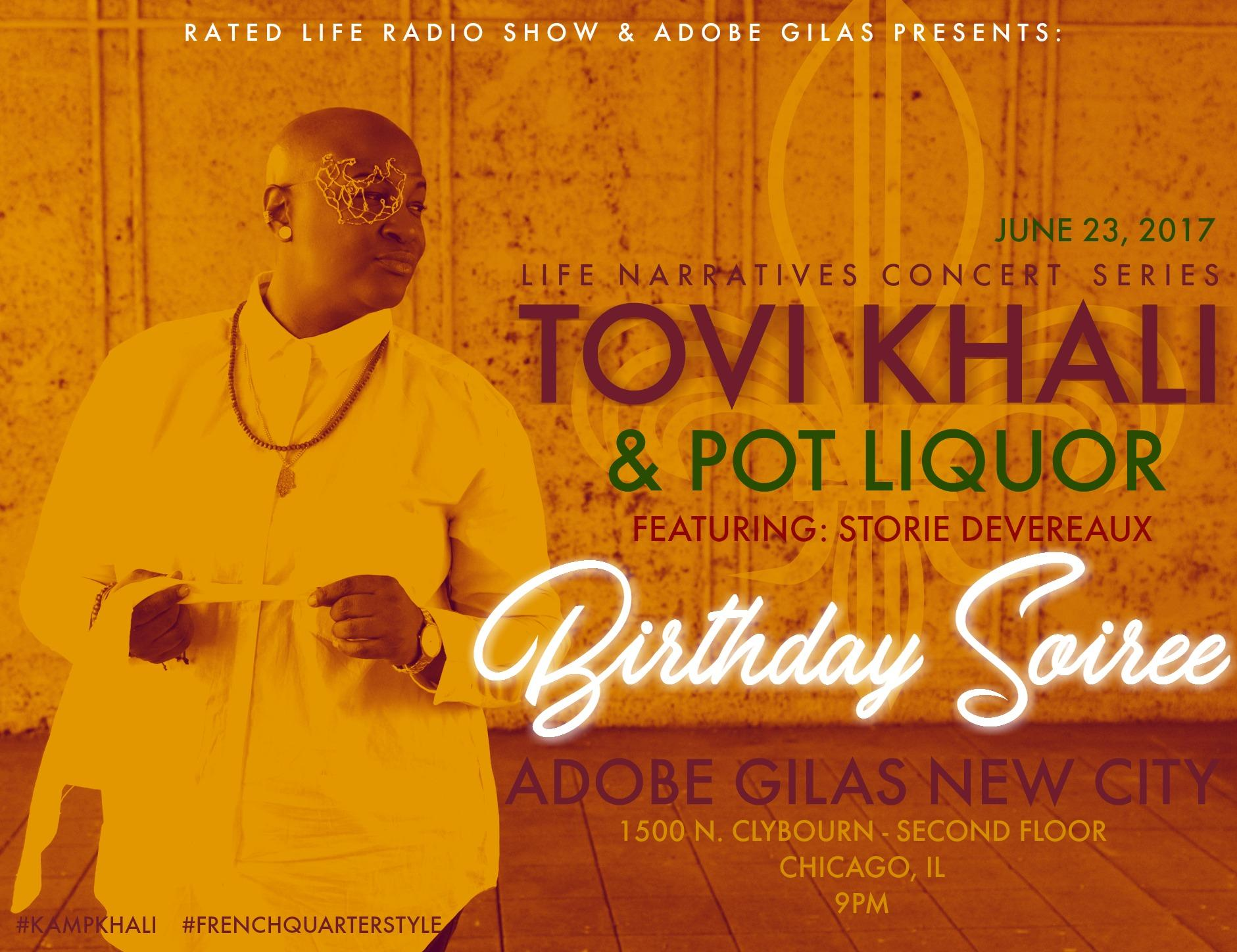 LIFE NARRATIVES CONCERT SERIES Presents Tovi
