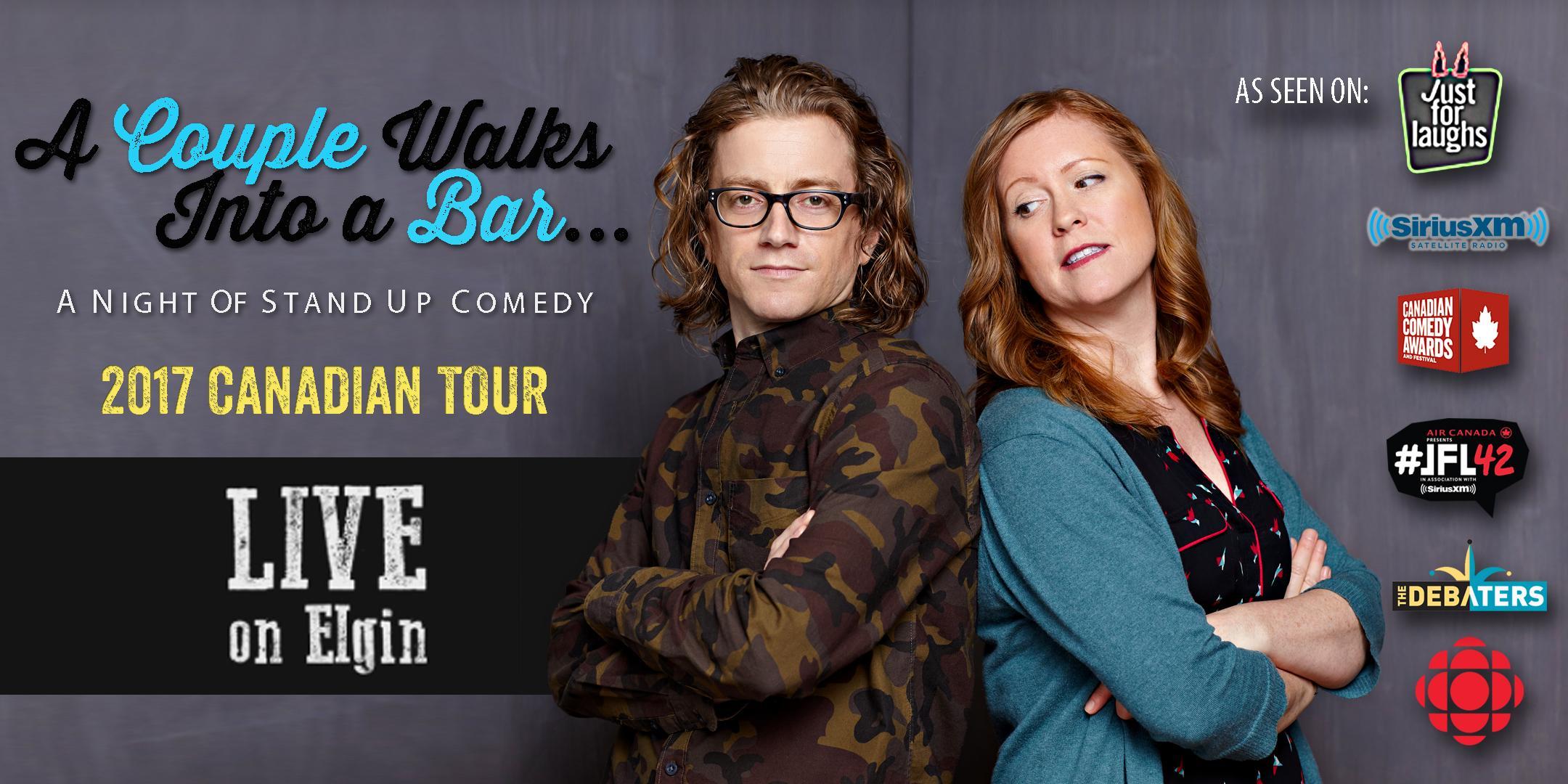 Comedy: A Couple Walks Into a Bar.. A Night o