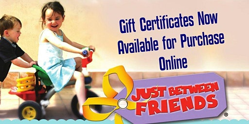 Give the Gift of Shopping-Gift Certificates Available Now