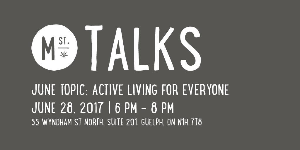 Tweed Main Street Talks Guelph: Active Living