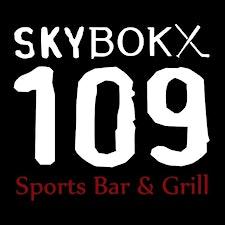 SKYBOKX 109 Sports Bar & Grill logo