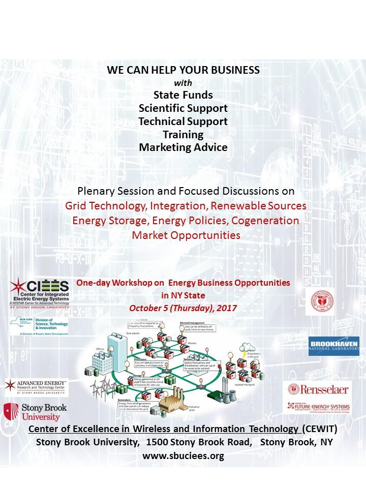 Workshop on  Energy Business Opportunities in