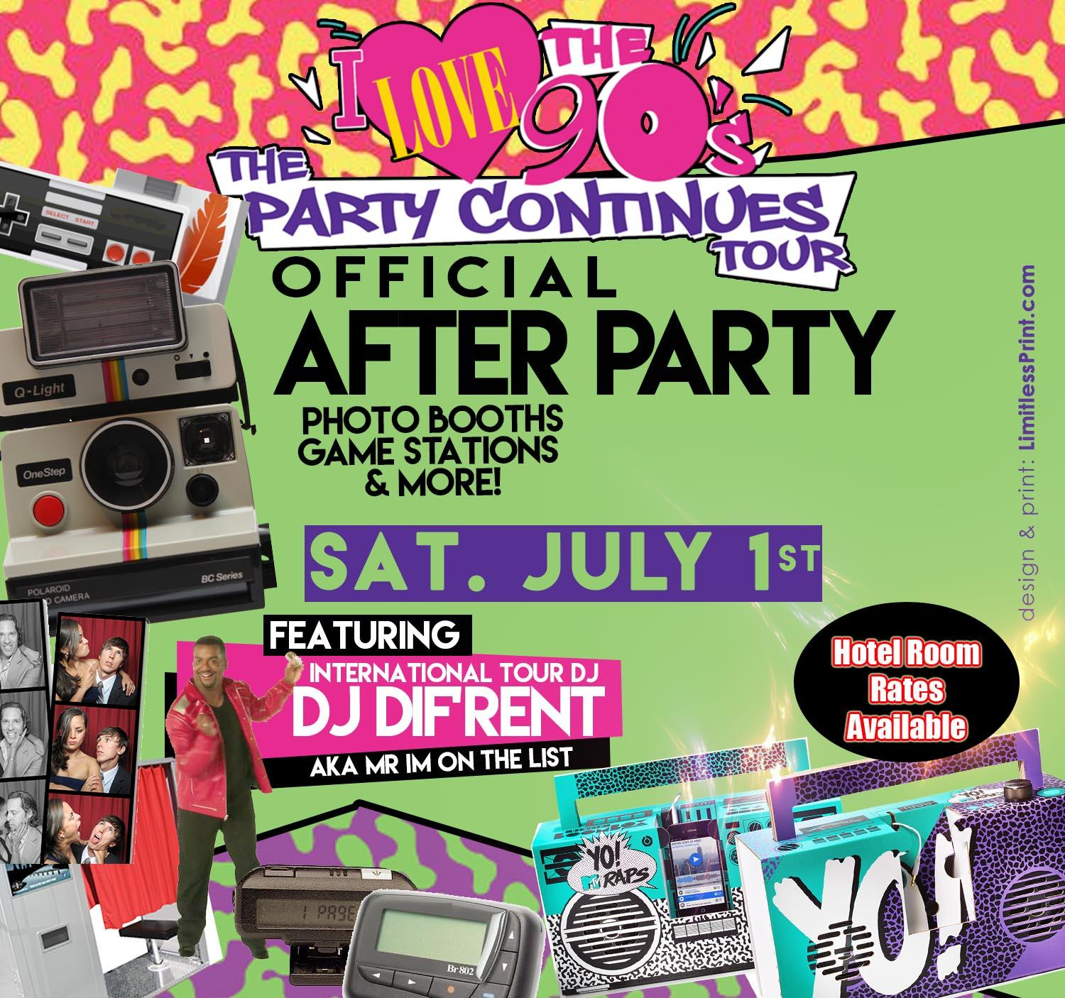 I Love the 90's After Party. I Love the 90's After Party