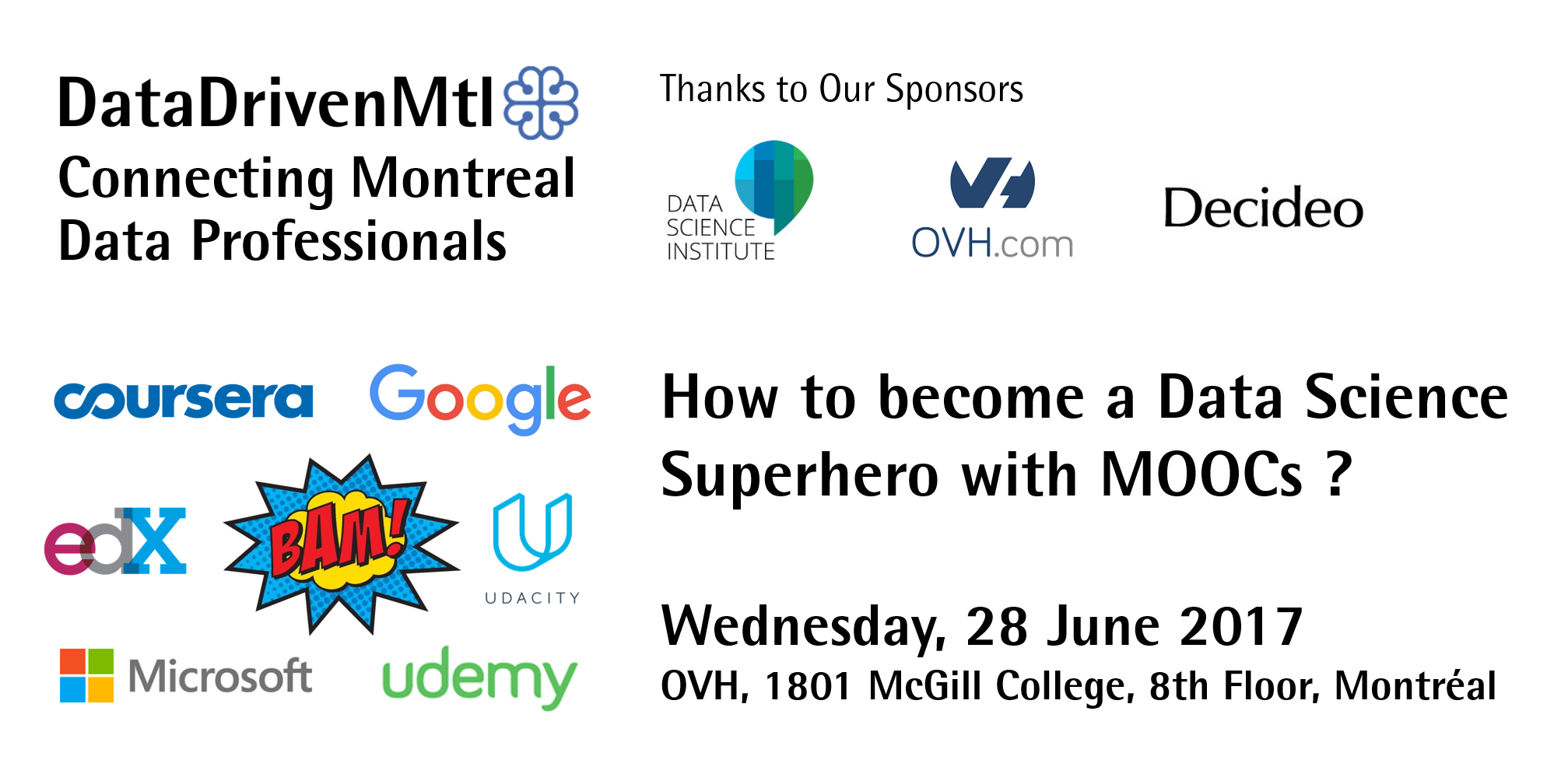 How to become a Data Science Superhero with M