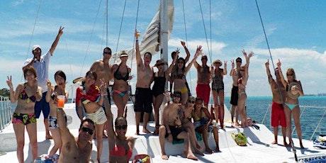 Playa del Carmen Party Booze Cruise Premium - Catamaran Tour tickets