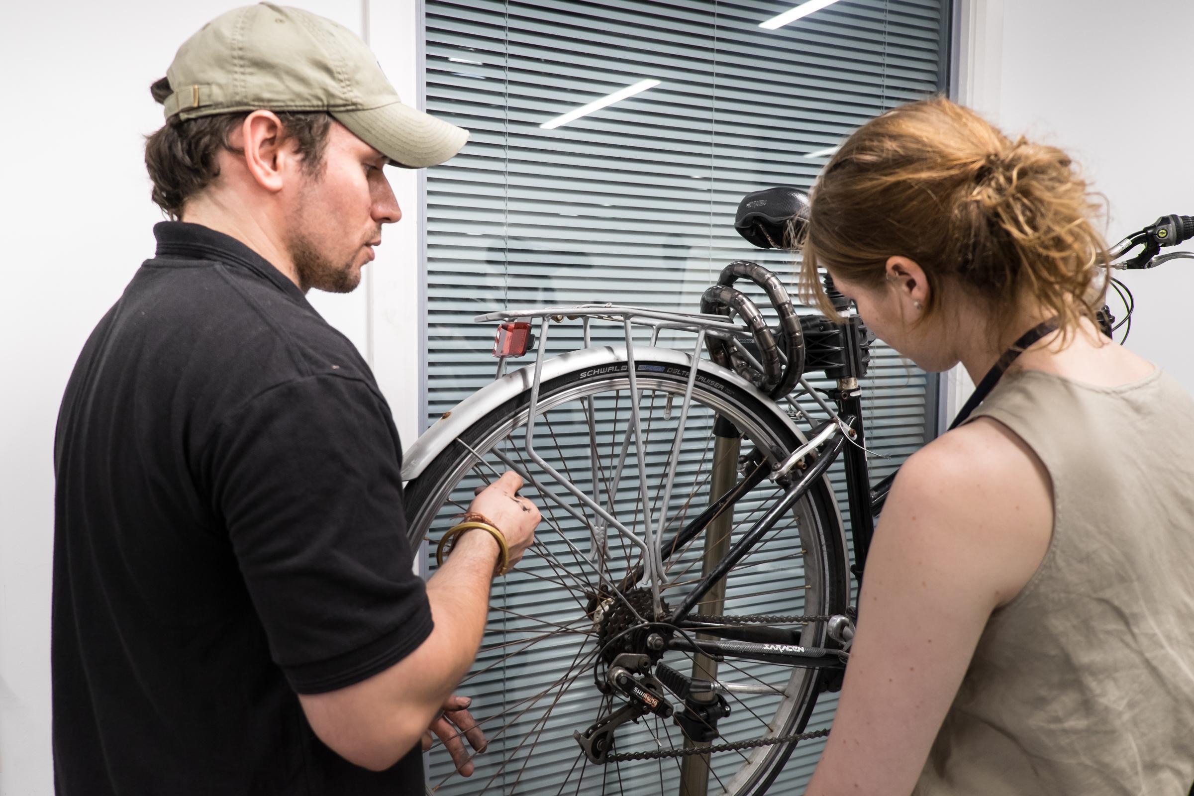 Basic bicycle maintenance [Eccles]
