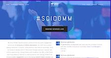 The #SciComm Space @SalfordUni logo