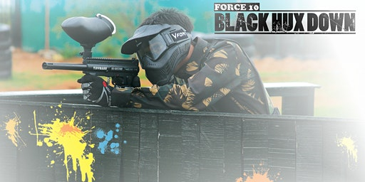 Black HUX Down! A UX Paintball Action