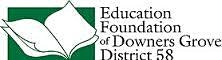 Education Foundation of Downers Grove District 58 logo