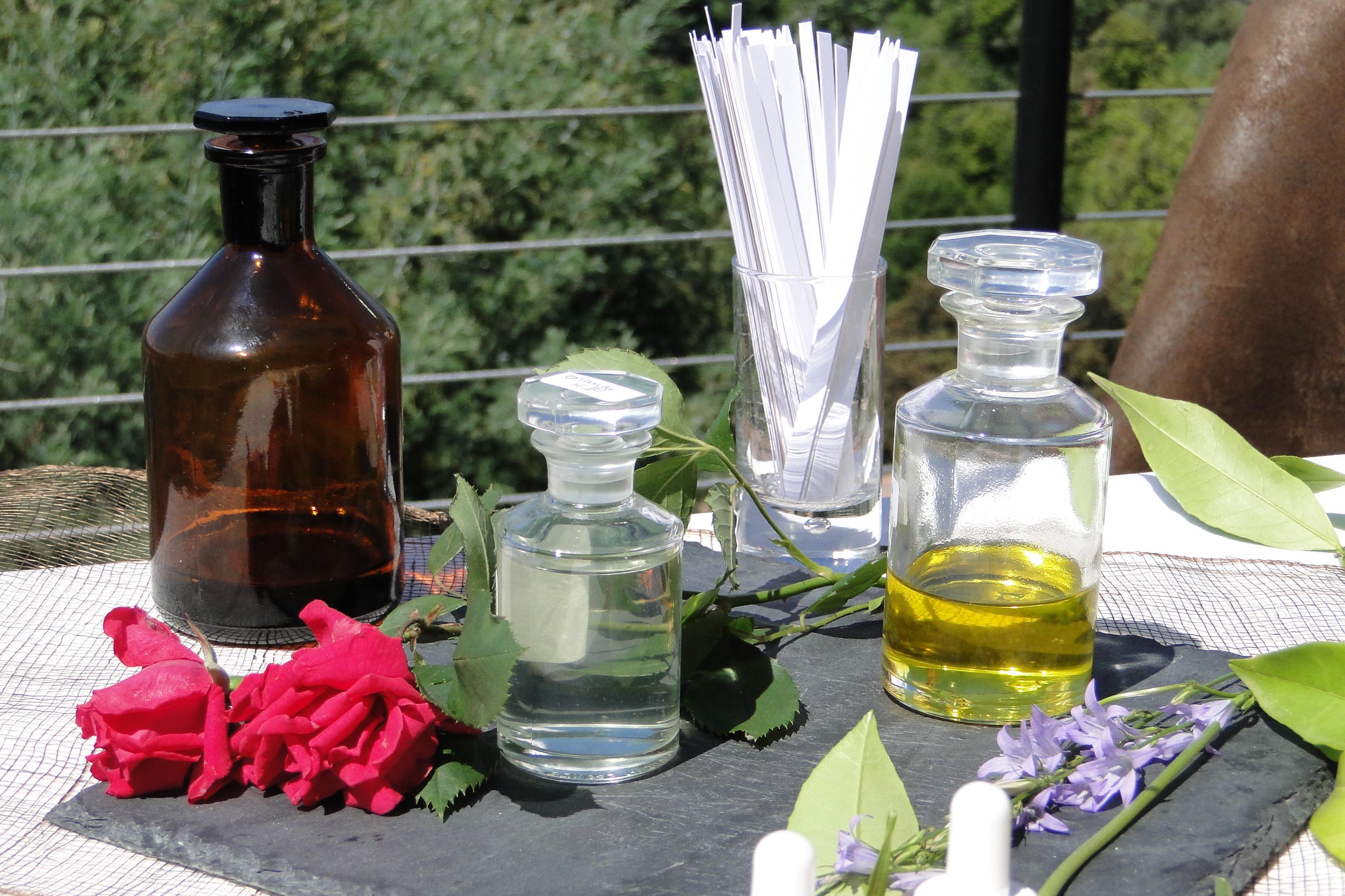 Atelier privé de création de parfum