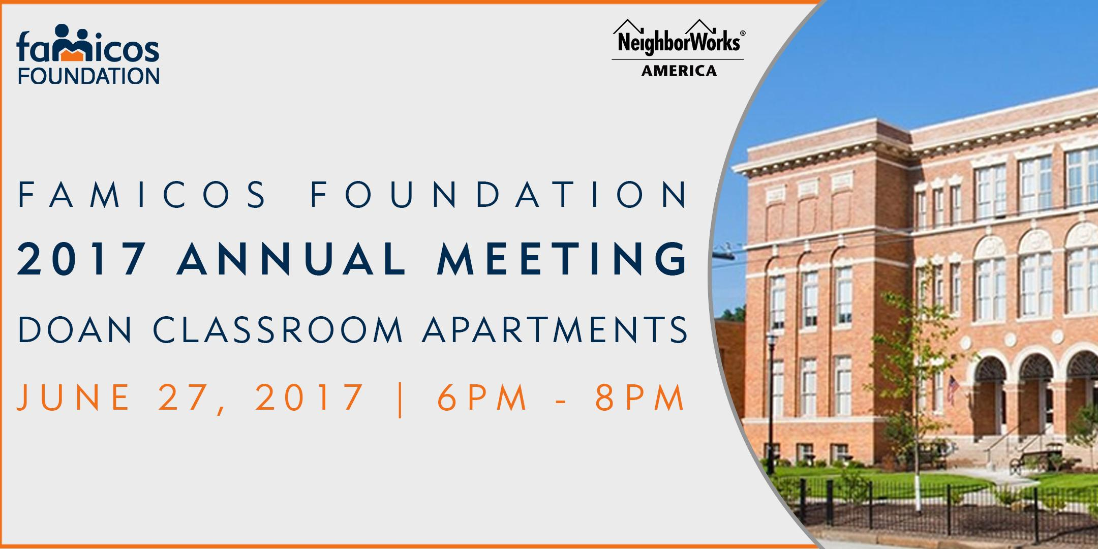 Famicos Foundation 2017 Annual Meeting