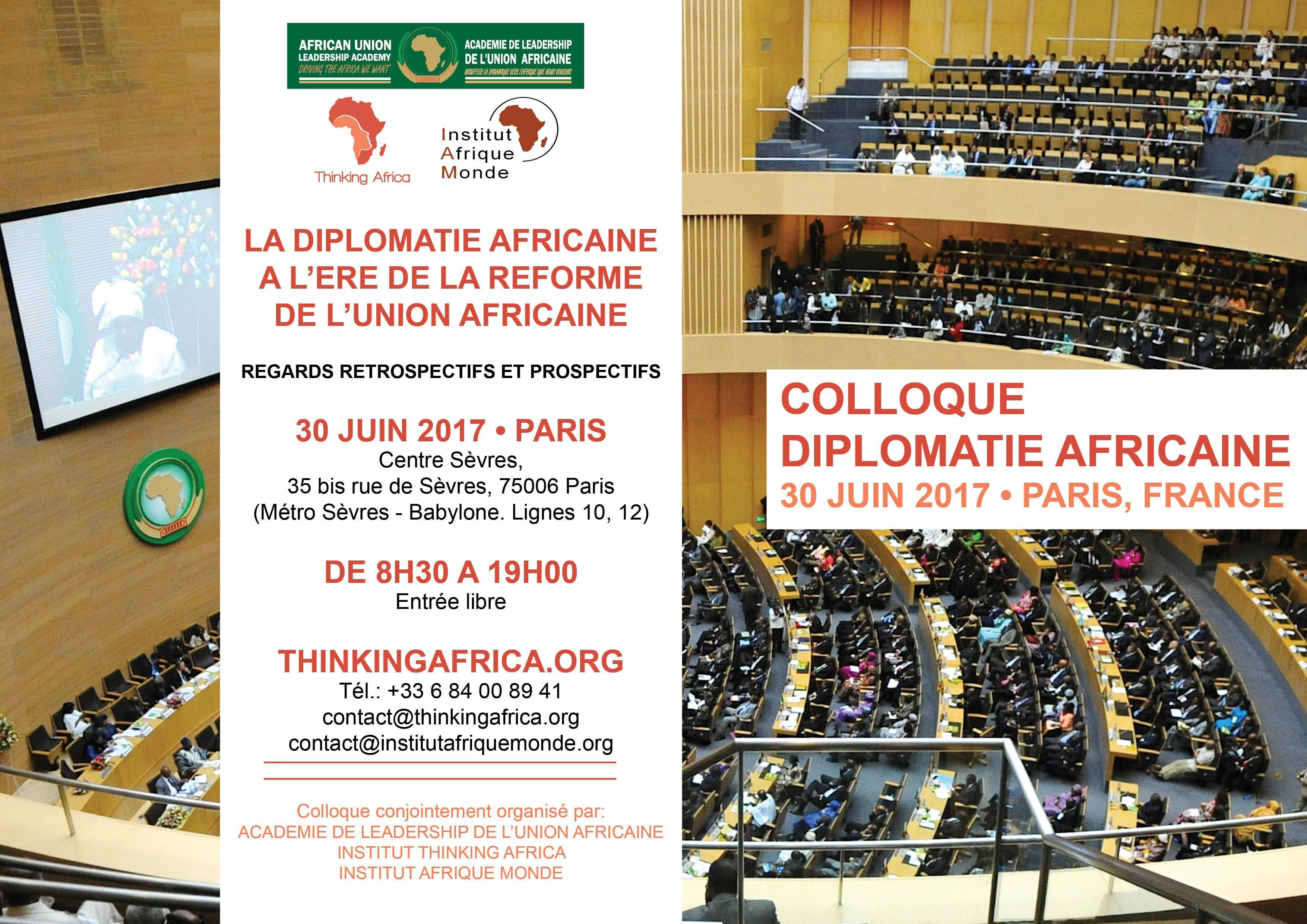 LA DIPLOMATIE AFRICAINE A LERE DE LA REFORME DE L'UNION AFRICAINE : ENTRE DEFIS ET OPPORTUNITES
