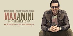 Max Amini Live in Boston