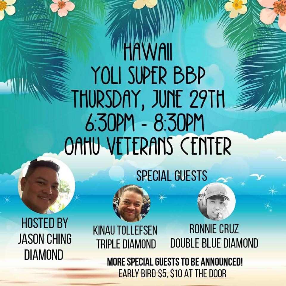 Hawaii's June Super BBP