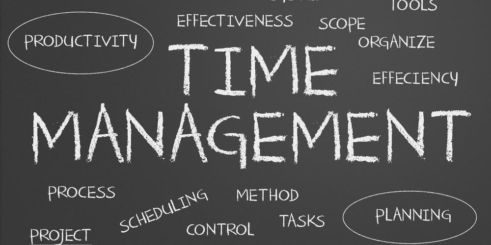 maximizing productivity in grad school scheduling time management