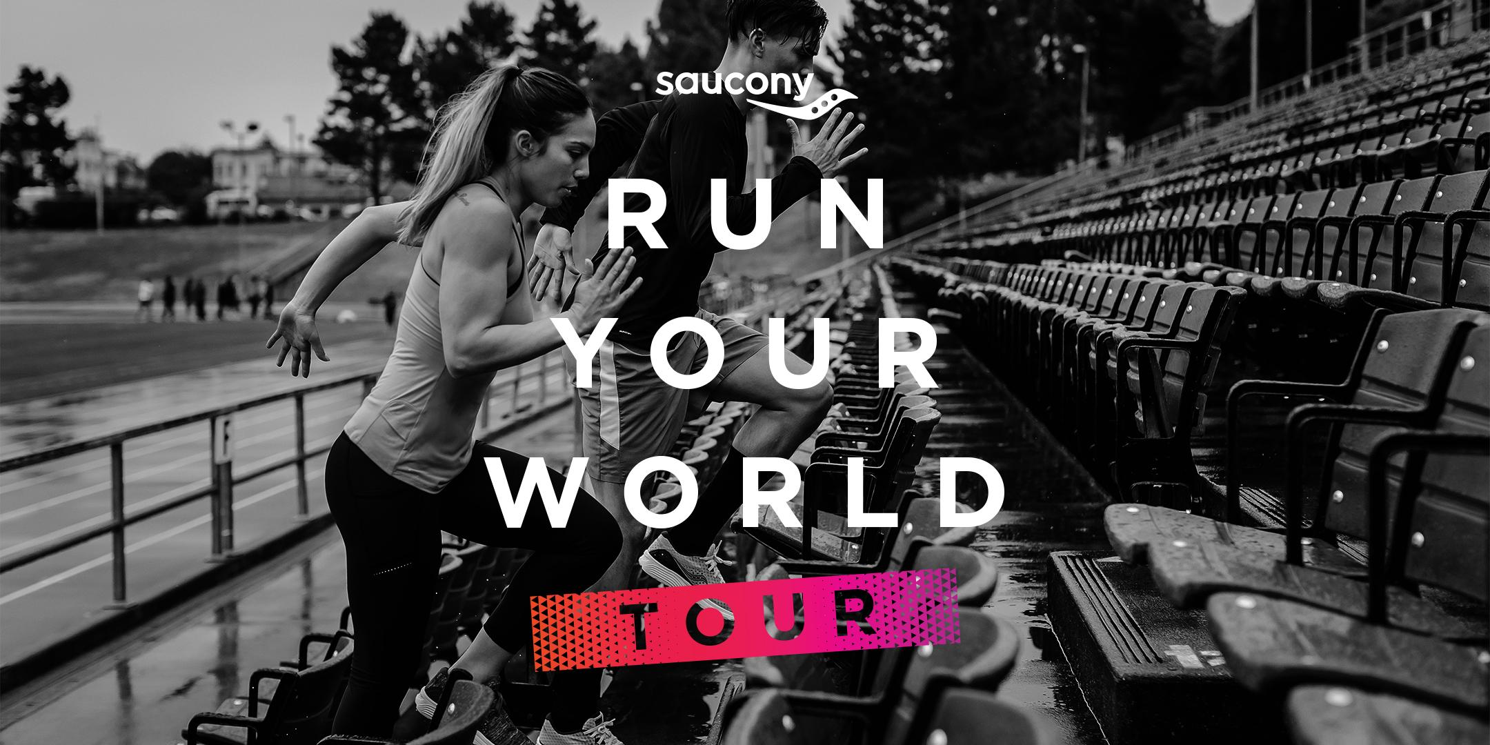 Saucony Run Your World Tour - Rochester
