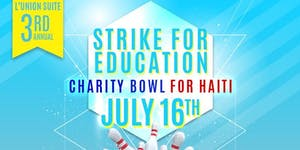 """L'union Suite 3rd Annual """"Strike For Education""""..."""