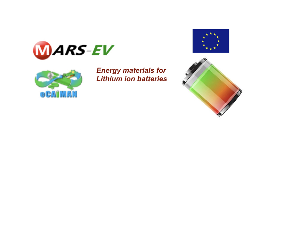 Energy materials for Lithium ion batteries