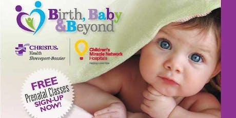 CHRISTUS BBB Prenatal Class - Orientation, Anesthesia, Tour tickets
