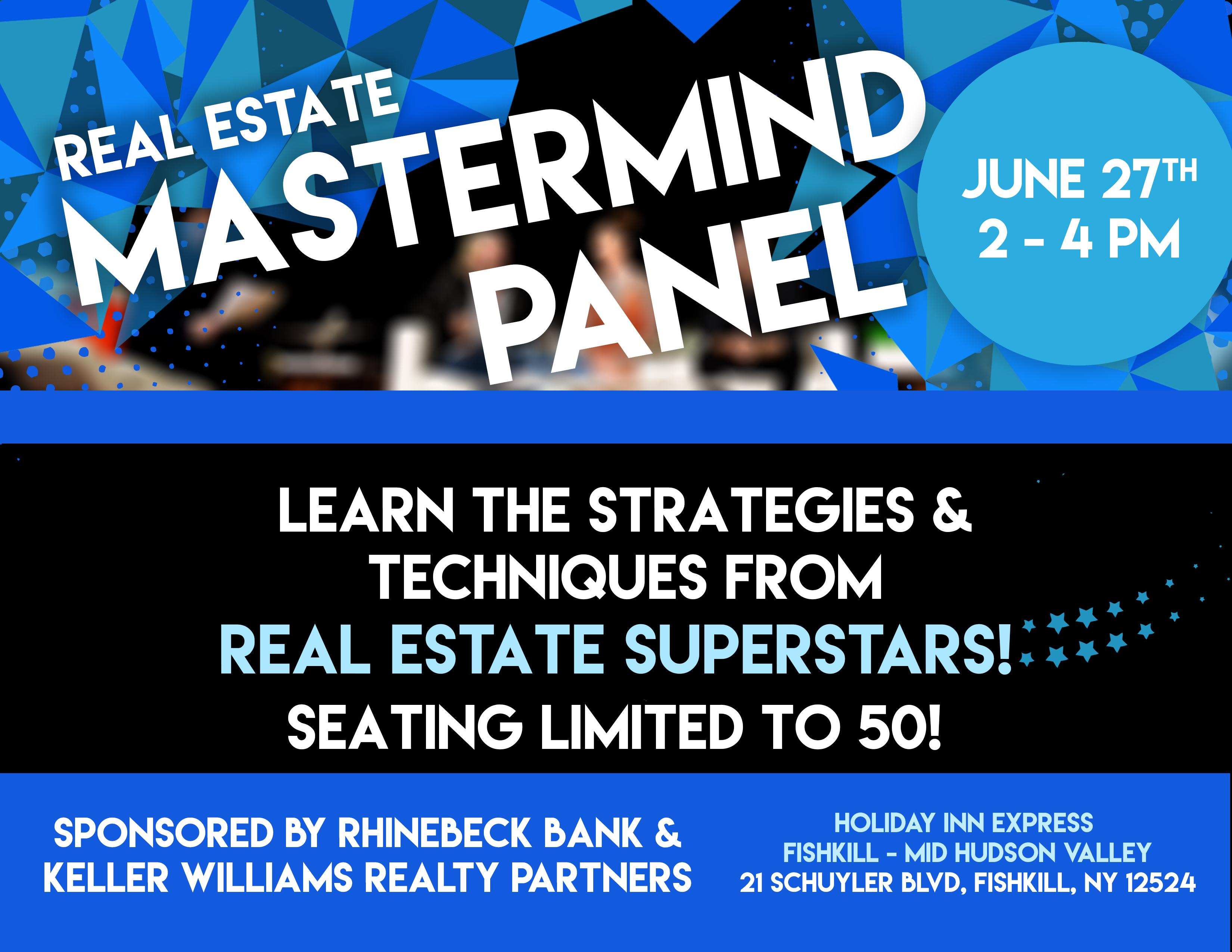 Real Estate MASTERMIND Panel