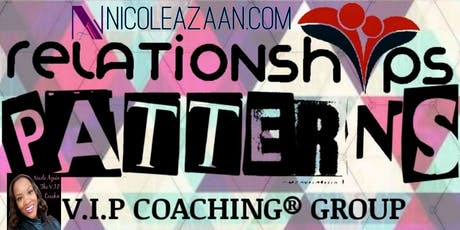 PATTERNS V.I.P Coaching® Online Group  tickets