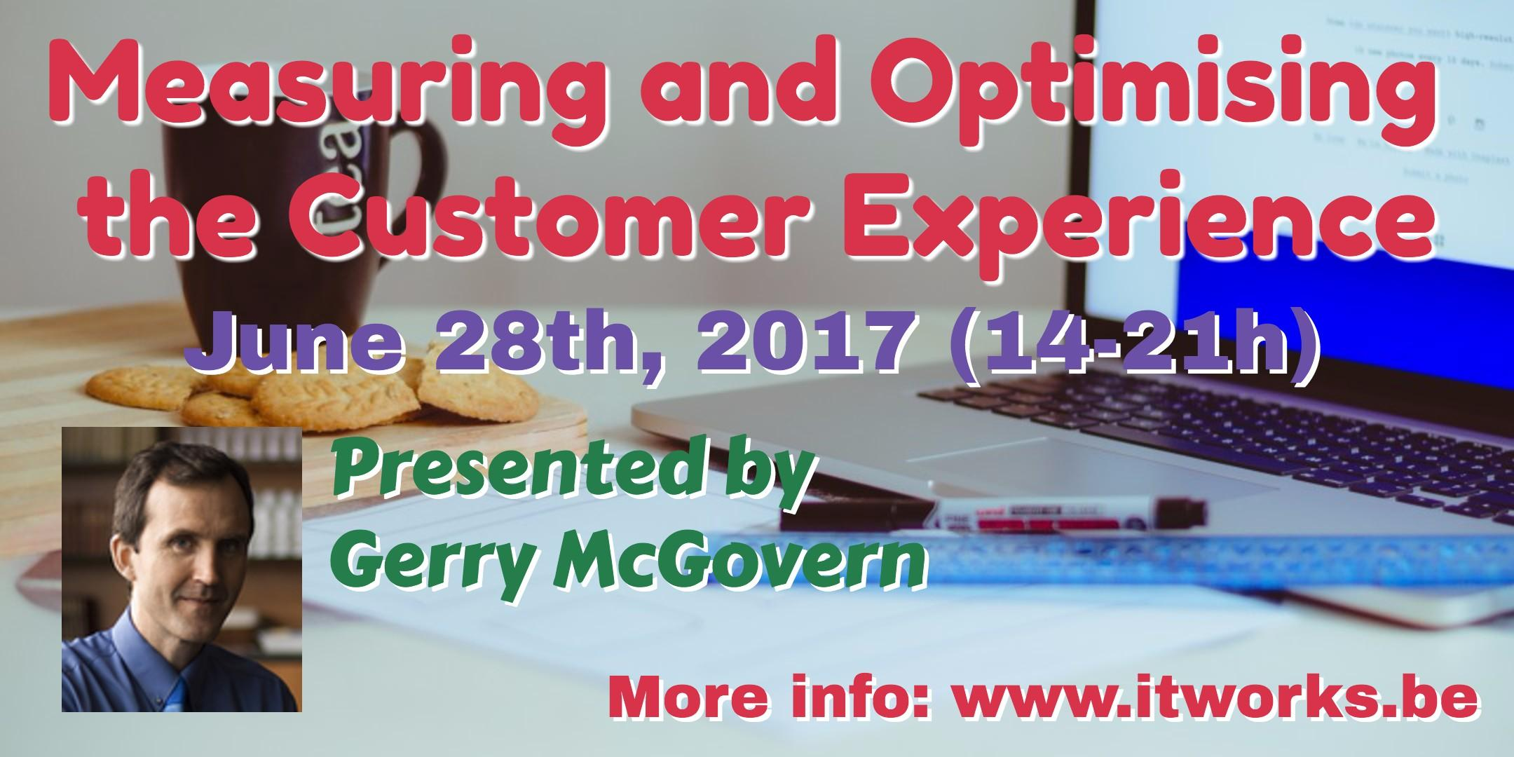 Measuring and Optimising the Customer Experie