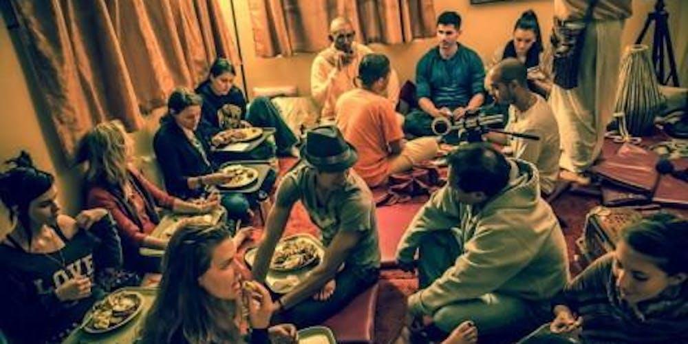 Krishna Lounge Guided Meditation Dinner Tickets Multiple Dates Eventbrite
