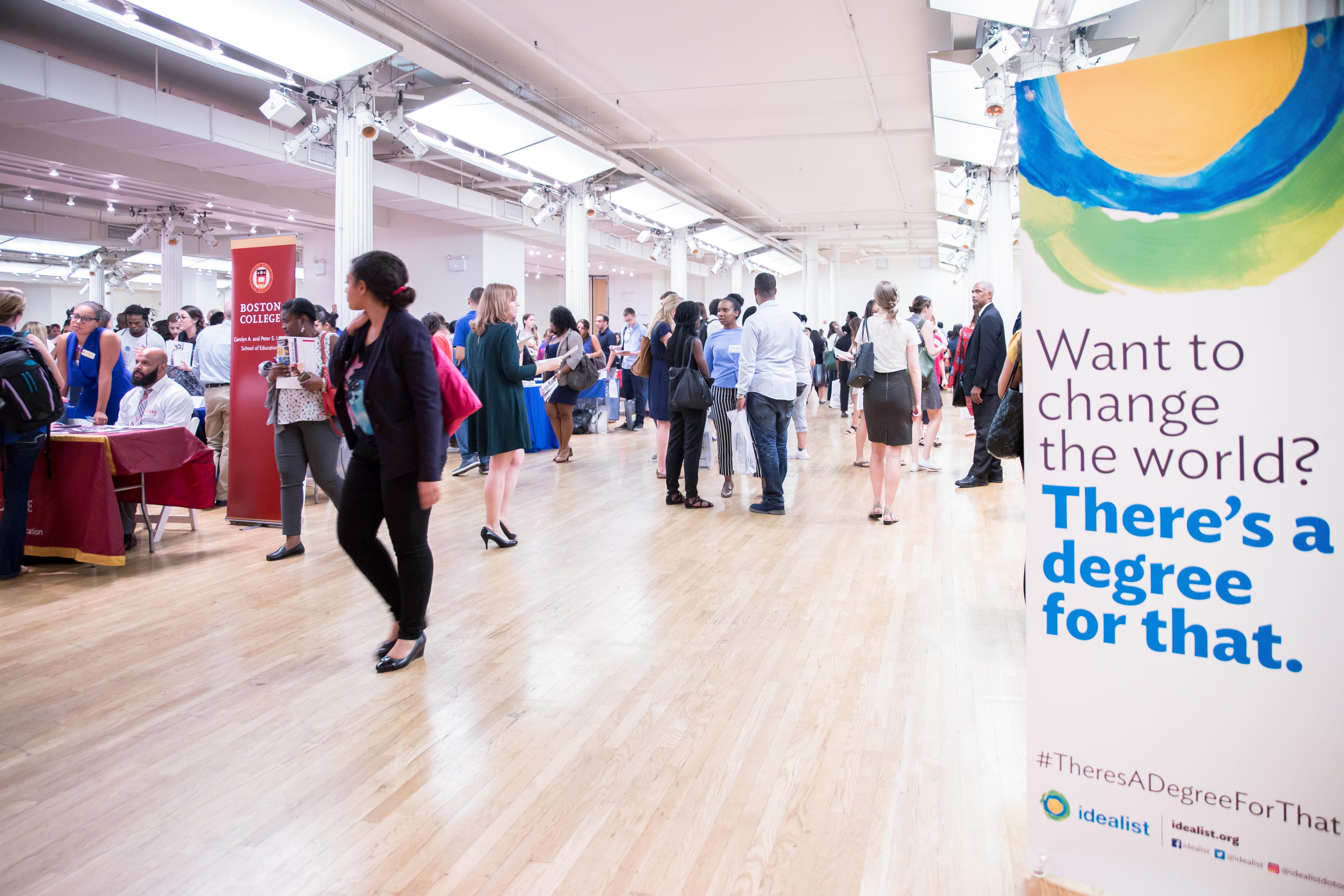 Washington DC Idealist Grad Fair 2017